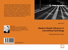 Buchcover von Medical Model Influence in Counseling Psychology