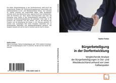 Bookcover of Bürgerbeteiligung in der Dorfentwicklung