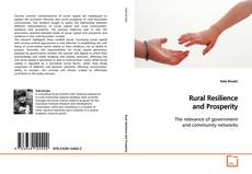 Bookcover of Rural Resilience and Prosperity