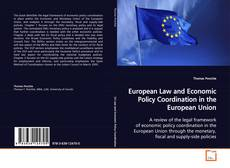 Buchcover von European Law and Economic Policy Coordination in the European Union