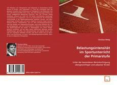 Borítókép a  Belastungsintensität im Sportunterricht der Primarstufe - hoz