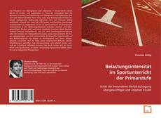 Portada del libro de Belastungsintensität im Sportunterricht der Primarstufe