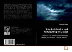 Buchcover von Interdisziplinarität und Kulturauftrag im Musical