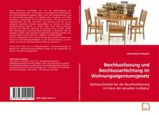 Buchcover von Beschlussfassung und Beschlussanfechtung im Wohnungseigentumsgesetz