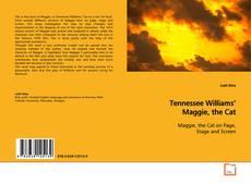 Portada del libro de Tennessee Williams' Maggie, the Cat