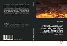 Couverture de Internationalisation in United Kingdom Higher Education Institutions