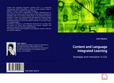 Capa do livro de Content and Language Integrated Learning