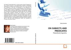 Bookcover of ON SUBJECTS AND PREDICATES