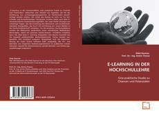 Capa do livro de E-LEARNING IN DER HOCHSCHULLEHRE