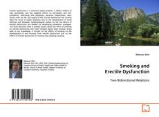 Bookcover of Smoking and Erectile Dysfunction