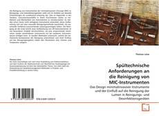 Bookcover of Spültechnische Anforderungen an die Reinigung von MIC-Instrumenten