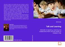 Portada del libro de Talk and Learning