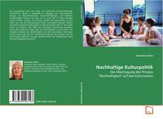 Buchcover von Nachhaltige Kulturpolitik