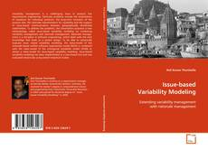 Bookcover of Issue-based Variability Modeling