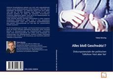 Bookcover of Alles bloß Geschwätz!?