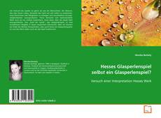 Borítókép a  Hesses Glasperlenspiel selbst ein Glasperlenspiel? - hoz