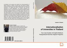 Couverture de Internationalisation of Universities in Thailand