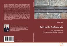 Capa do livro de Path to the Professoriate