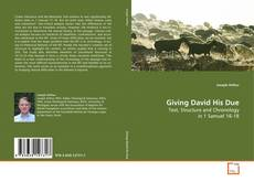 Bookcover of Giving David His Due
