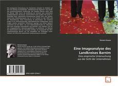 Bookcover of Eine Imageanalyse des Landkreises Barnim