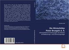Copertina di Die Winterbilder Pieter Bruegels d. Ä.