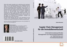 Buchcover von Supply Chain Management für die Immobilienwirtschaft