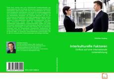 Bookcover of Interkulturelle Faktoren