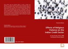 Portada del libro de Effects of Religious Violence on the Indian Credit Sector