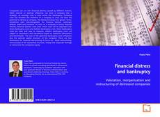 Bookcover of Financial distress and bankruptcy