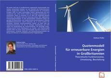 Borítókép a  Quotenmodell für erneuerbare Energien in Großbritannien - hoz