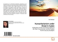 Capa do livro de Humanitarianism under threat in Sudan