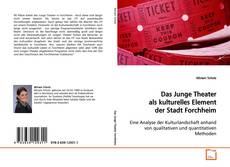 Buchcover von Das Junge Theater als kulturelles Element der Stadt Forchheim