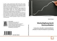 Buchcover von Wertschöpfung durch Kommunikation