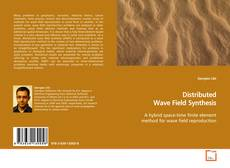 Bookcover of Distributed Wave Field Synthesis