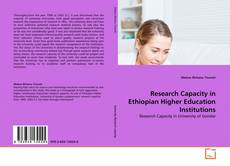 Обложка Research Capacity in Ethiopian Higher Education Institutions
