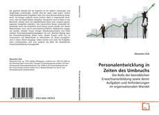 Bookcover of Personalentwicklung in Zeiten des Umbruchs