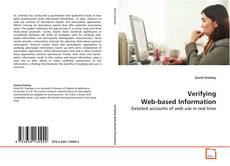 Capa do livro de Verifying Web-based Information