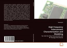 Обложка High Frequency Interconnect Characterization and Modeling