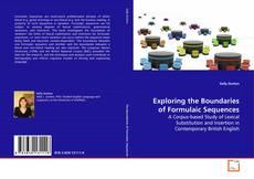 Обложка Exploring the Boundaries of Formulaic Sequences