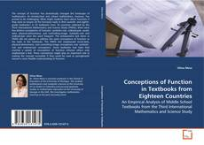 Couverture de Conceptions of Function in Textbooks from Eighteen Countries