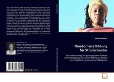 Bookcover of Non-formale Bildung für Straßenkinder