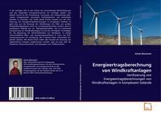 Bookcover of Energieertragsberechnung von Windkraftanlagen