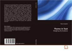 Theme in Text kitap kapağı
