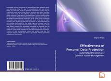 Bookcover of Effectiveness of Personal Data Protection