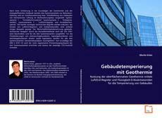Buchcover von Gebäudetemperierung mit Geothermie