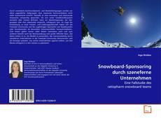Bookcover of Snowboard-Sponsoring durch szeneferne Unternehmen