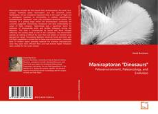 "Bookcover of Maniraptoran ""Dinosaurs"""