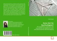 Bookcover of Keine Zeit für Nachhaltigkeit?