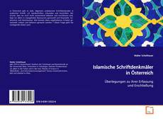 Capa do livro de Islamische Schriftdenkmäler in Österreich