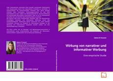 Обложка Wirkung von narrativer und informativer Werbung